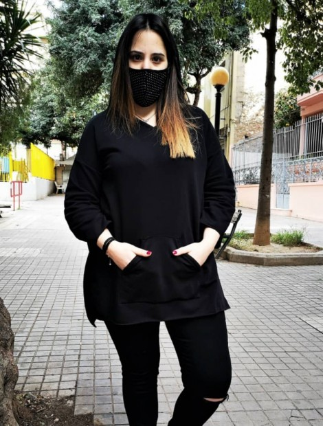 Oversized Hoodie blouse