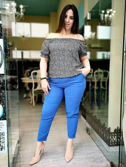 'Prada' παντελόνι σε ανορθωτικό κρεπ